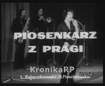 Piosenkarz z Pragi