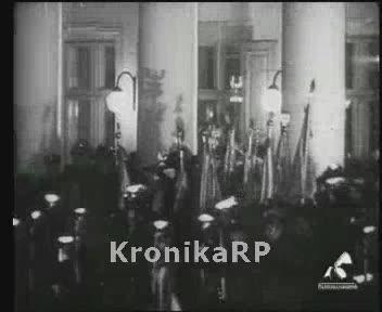 Capstrzyk w wigilię imienin marszałka Józefa Piłsudskiego