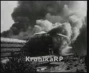 Pożar Dworca Głównego w Warszawie