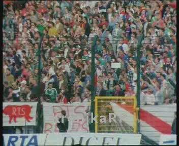 Mecz Legia - Widzew