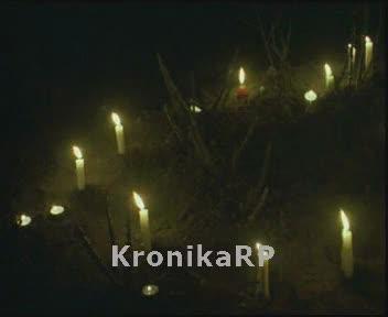 Ostatnie dni Jana Pawła II - modły wiernych w Krakowie