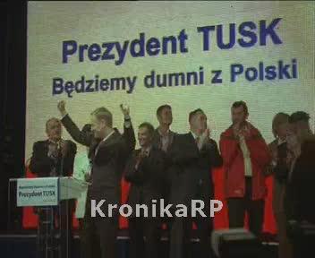 Wybory prezydenckie I tura - sztab PO
