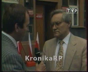 Głosuje Wiesław Gwiżdż